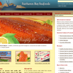 Fairhaven Bay Seafoods website